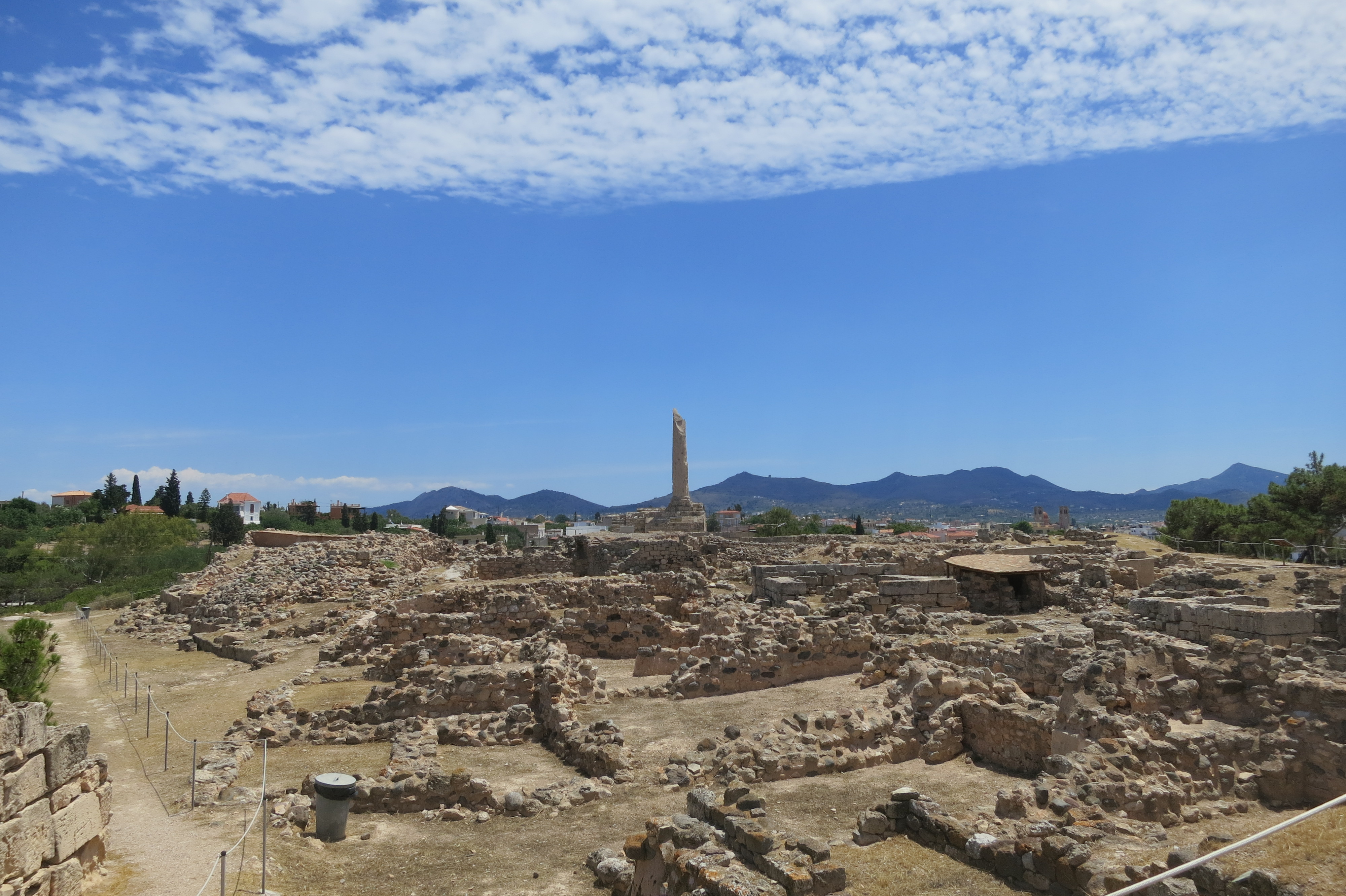 Archaeological Site of Kolona aegina