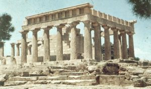 The Doric temple of Aphaea