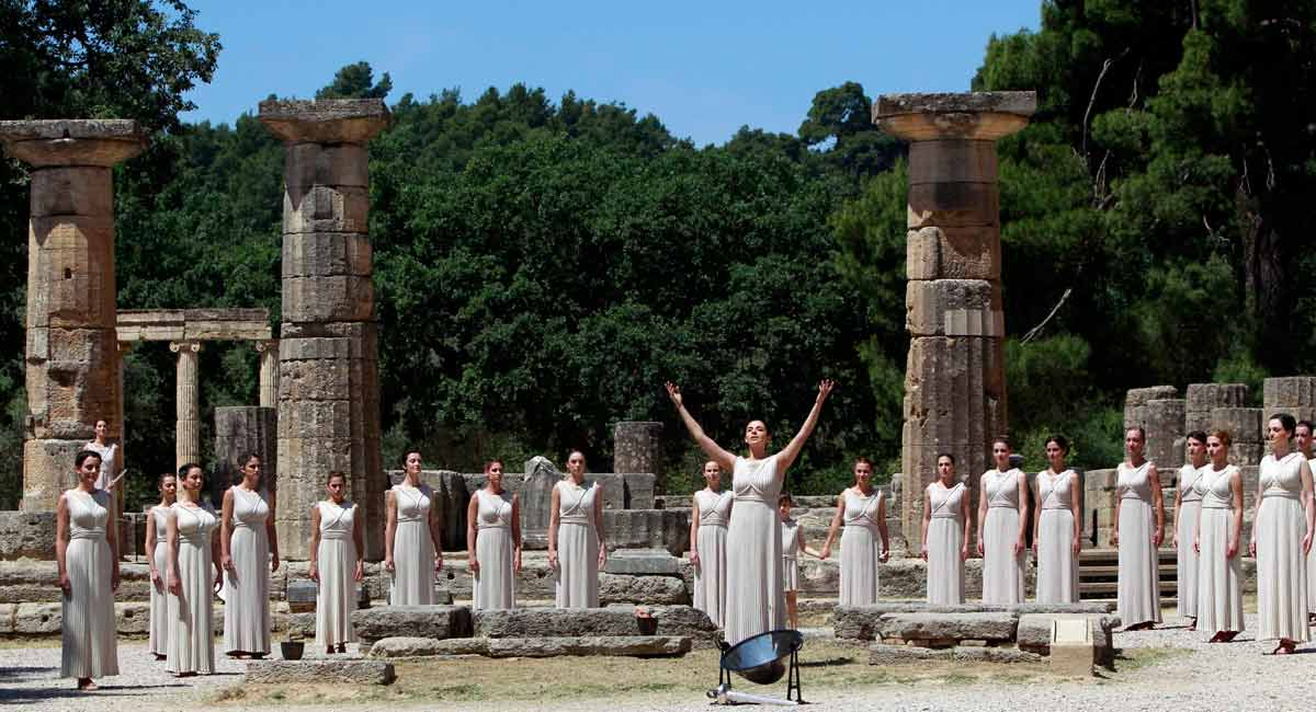 Ancient Olympia GreeceAncient Olympia Greece