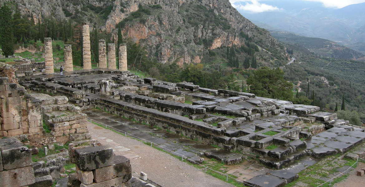 Guided tour to Delphi