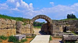 Stadium ancient Olympia Greece