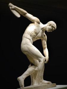 Diskobolos (discus thrower) 2nd century