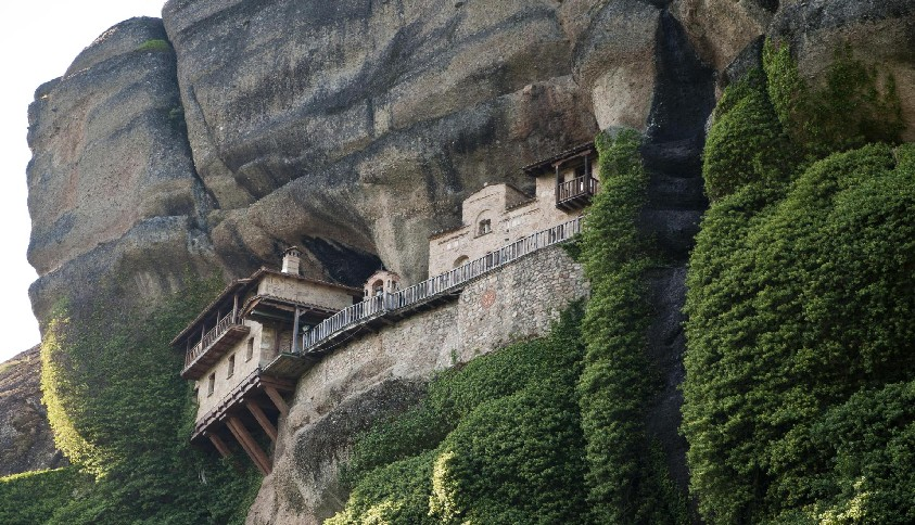Monastery in a cave