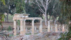 Vravrona temple Artemis