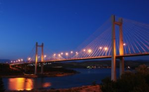 Bridge connecting Evia